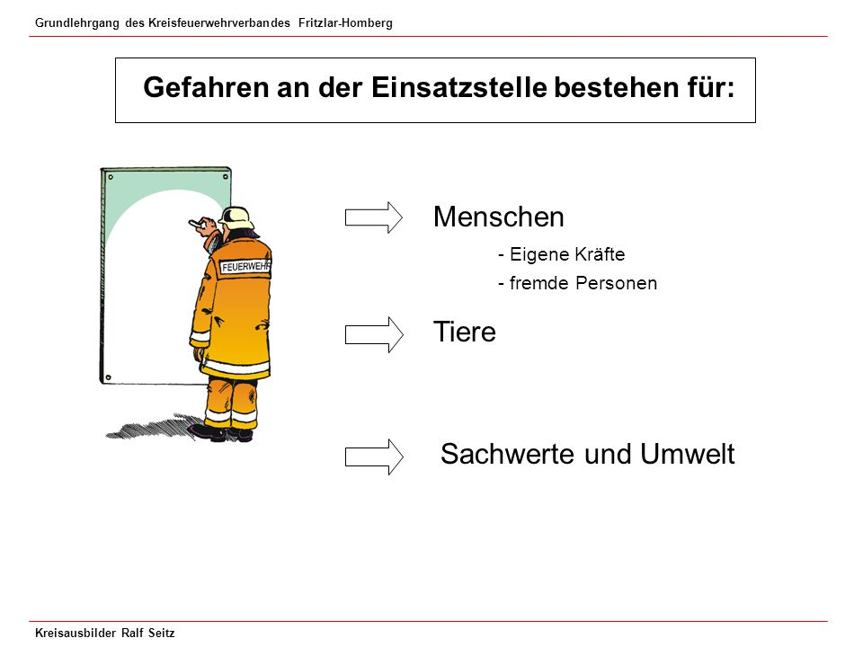 Grundlehrgang des Kreisfeuerwehrverbandes Fritzlar-Homberg Kreisausbilder Ralf Seitz