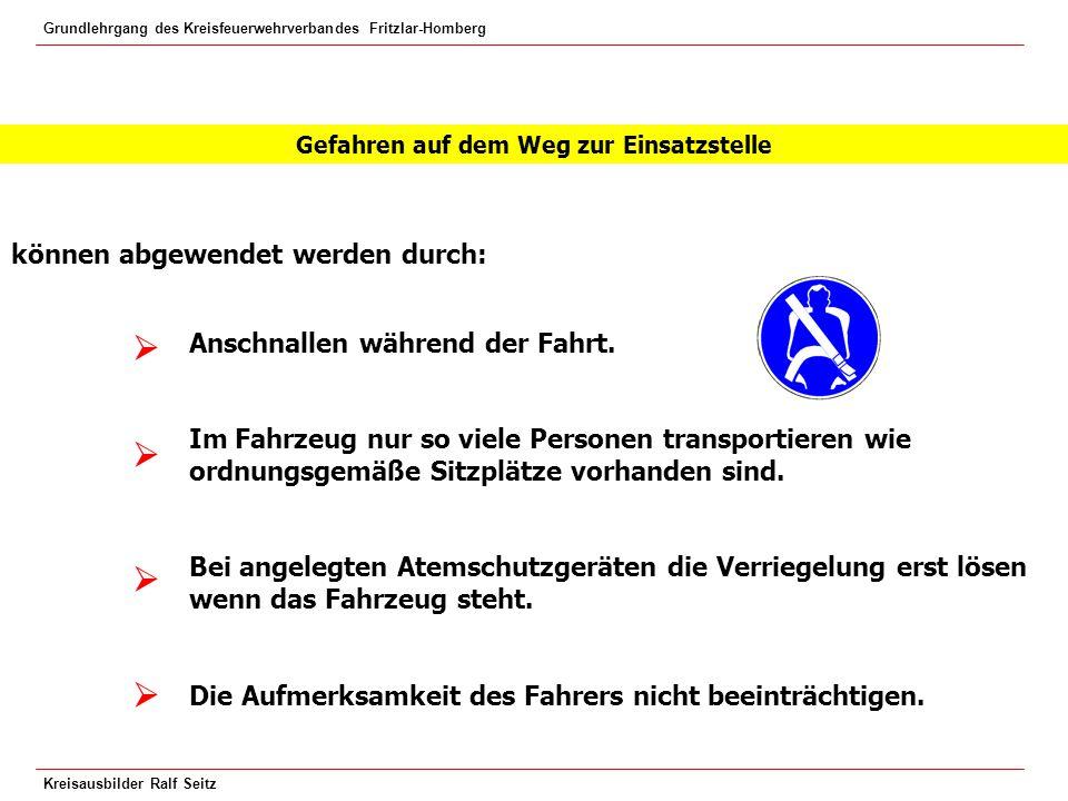 Grundlehrgang des Kreisfeuerwehrverbandes Fritzlar-Homberg Kreisausbilder Ralf Seitz Nur von ausgebildeten (Motorkettensägen- Seminar) Einsatzkräften bedienen lassen.