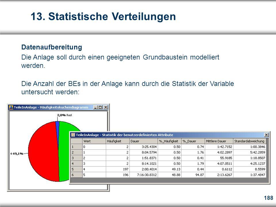 188 Datenaufbereitung Die Anlage soll durch einen geeigneten Grundbaustein modelliert werden.