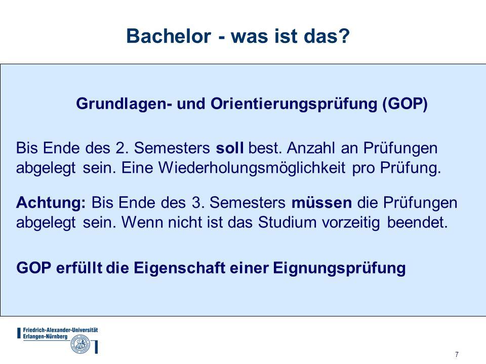 8 Bachelor - was ist das.