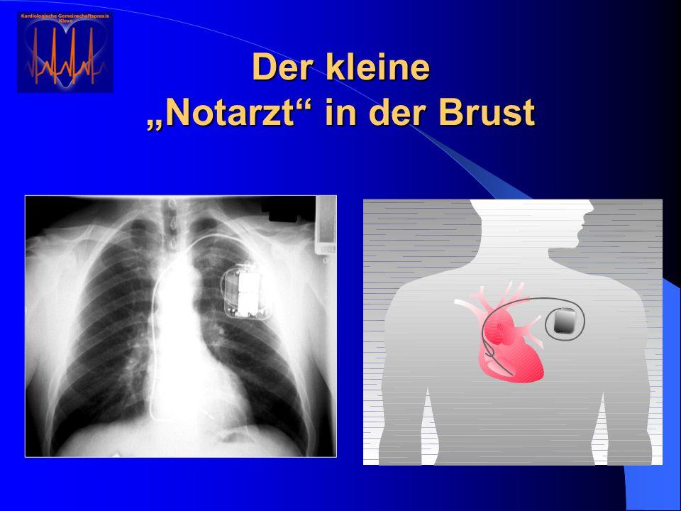 """Der kleine """"Notarzt"""" in der Brust"""