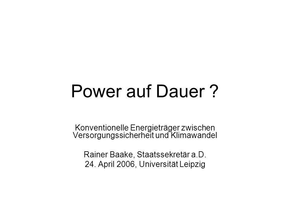 Power auf Dauer .