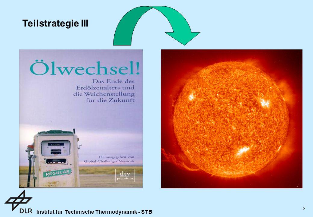 Institut für Technische Thermodynamik - STB 5 Eignung als Hauptenergiequelle: Kohle ?.