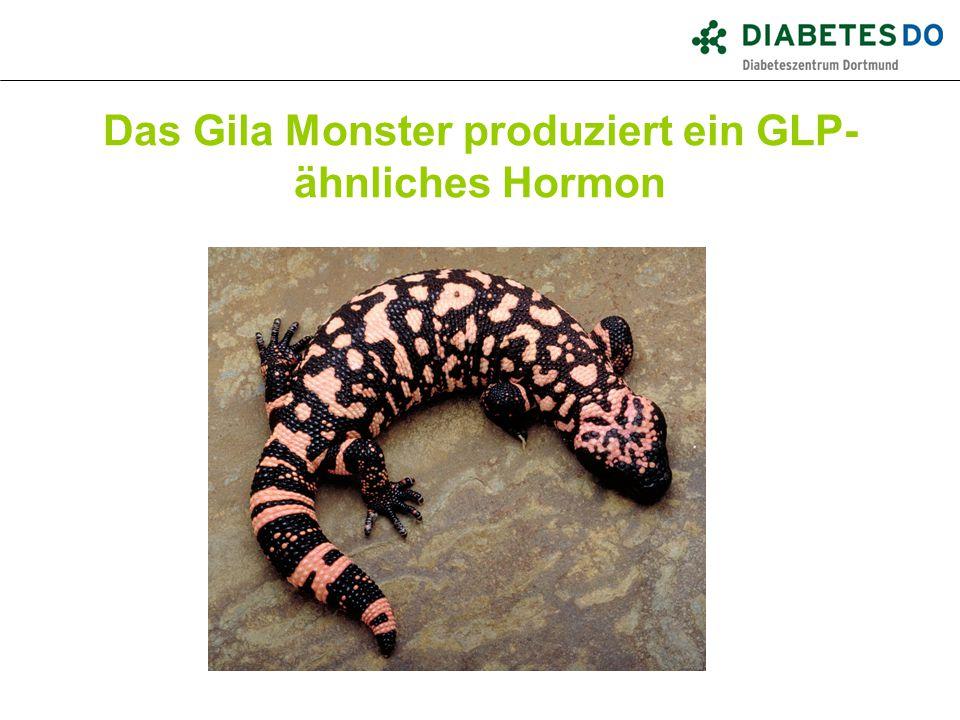 Das Gila Monster produziert ein GLP- ähnliches Hormon