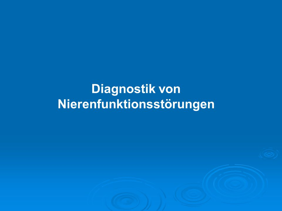WELTNIERENTAG Akutes Nierenversagen vermeiden 14.