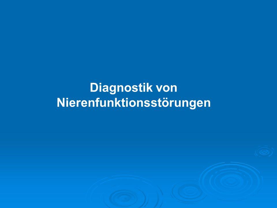 Immunologische Systemkrankheiten (3%) Typ II Diabetes (23%) Typ I Diabetes (4%) Alport u.a.