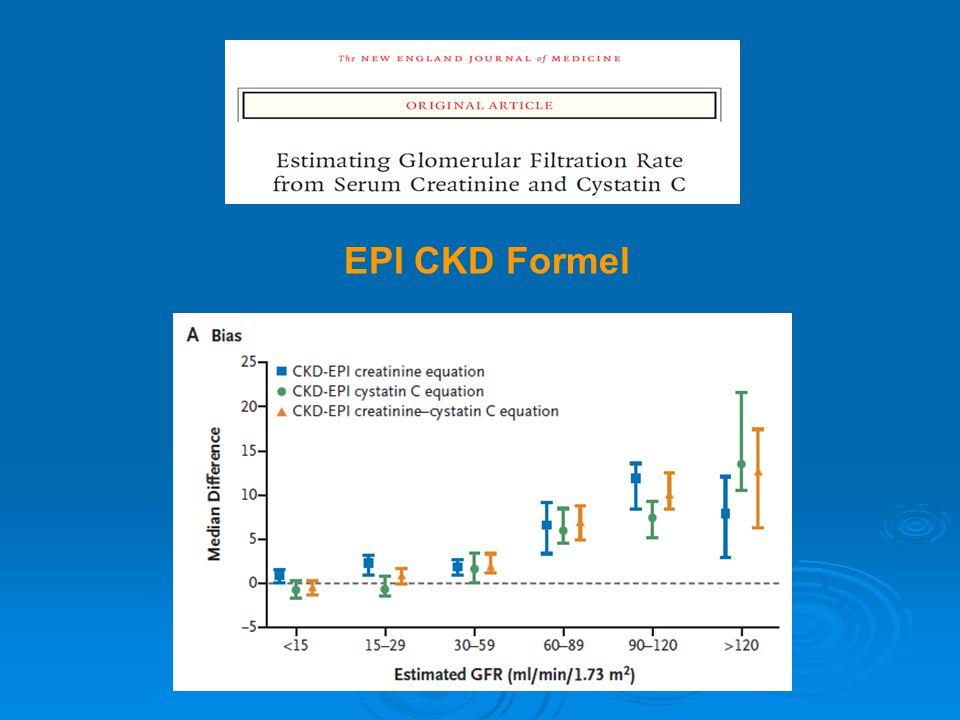 Reich HN et al, JASN 2007 0 0,5 1,0 02468101214 Renales Überleben Jahre <0,3 0,3-1 1-2 2-3 >3 Proteinurie [g/d] Mittel aus 6-monatlichen Messungen Reduktion unter 1 g/die  renales Überleben in allen Gruppen >70% Proteinurie (und Effekt der antiproteinurischen Therapie) bestimmen Prognose Beispiel: IgA-Nephropathie