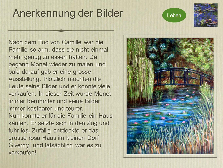 Lebensende In Giverny lebte Monet bis zum Ende seines Lebens.