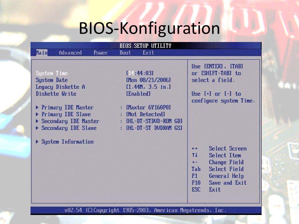 """UEFI """"Unified Extensible Firmware Interface Nachfolger von EFI (""""Extensible Firmware Interface ) Hauptsächlich 64-Bit (32-Bit auch möglich) Ziele: komfortablere Oberfläche Startende Bestandteile des Betriebssystems auswählen"""