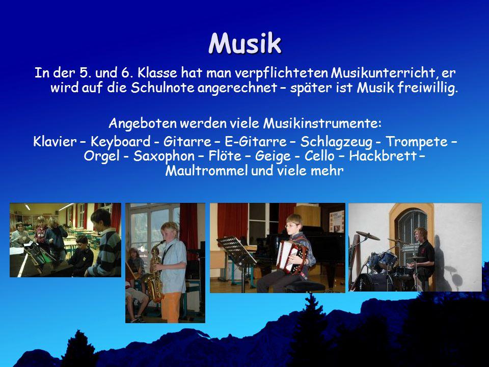 Musik In der 5.und 6.