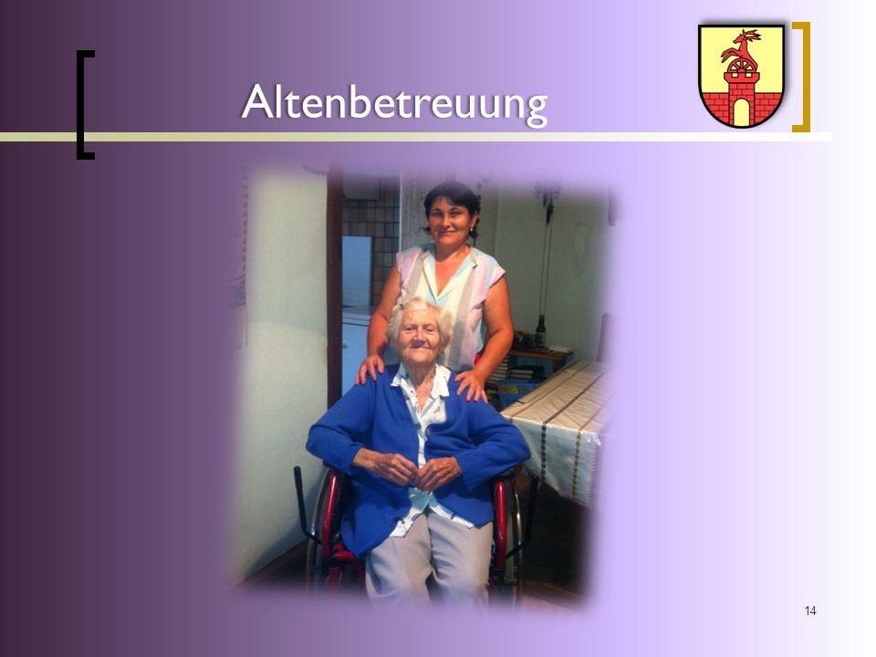 14 Altenbetreuung