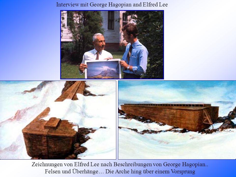 Zeichnungen von Elfred Lee nach Beschreibungen von George Hagopian..