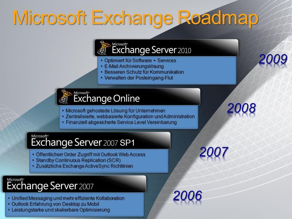 Optimiert für Software + ServicesOptimiert für Software + Services E-Mail ArchivierungslösungE-Mail Archivierungslösung Besseren Schutz für Kommunikat