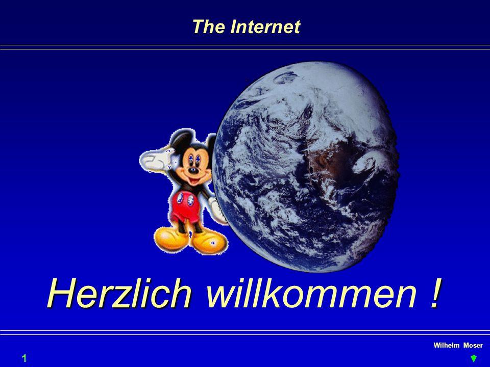 Wilhelm Moser The Internet Herzlich ! Herzlich willkommen ! 1