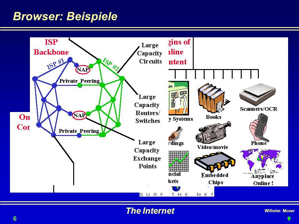 Wilhelm Moser The Internet Browser: Beispiele 63