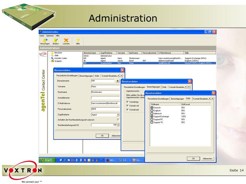 """Seite 15 ● Die Multimedia-ICD (""""Intelligent Contact Distribution = intelligente Verteilung aller eigehenden Kontakte) von agenTel ist eine von der TK-Anlage unabhängige Software- Komponente, die das komplettes Routing vornimmt."""