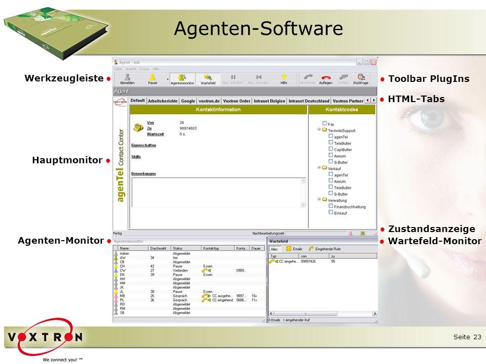 Seite 24 Agenten-Software ● Alternativ lässt sich die Software im Mini-Client Modus nutzen.