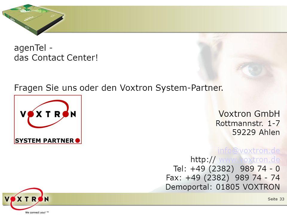 Seite 33 Voxtron GmbH Rottmannstr.