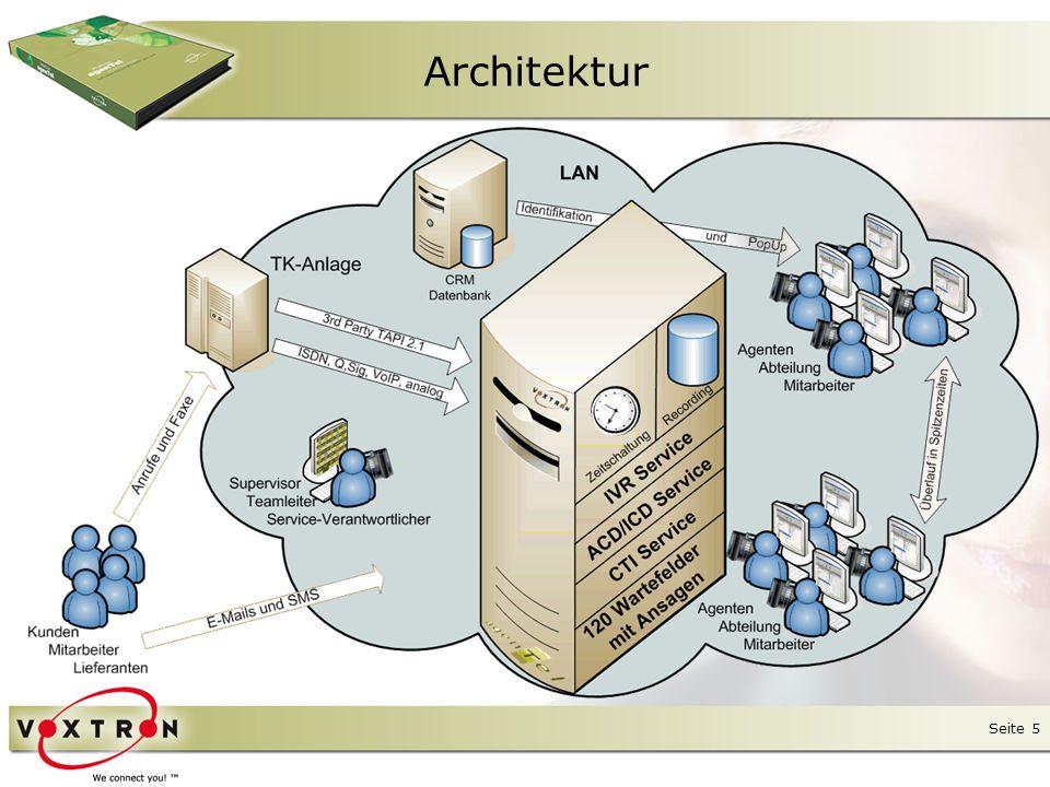 Seite 6 ● agenTel enthält als Server-Kompo- nente immer das Produkt Axxium.