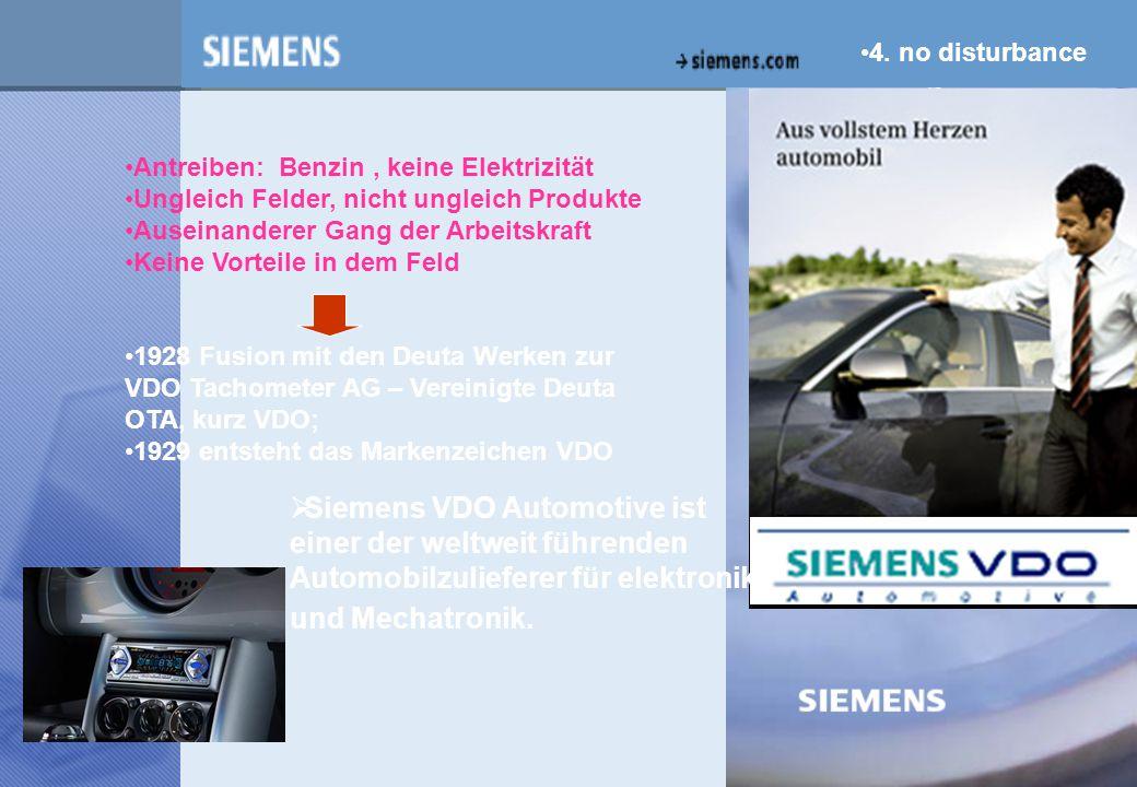 z  Siemens VDO Automotive ist einer der weltweit führenden Automobilzulieferer für elektronik und Mechatronik.
