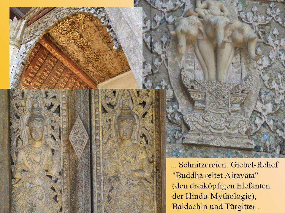 .. Schnitzereien: Giebel-Relief
