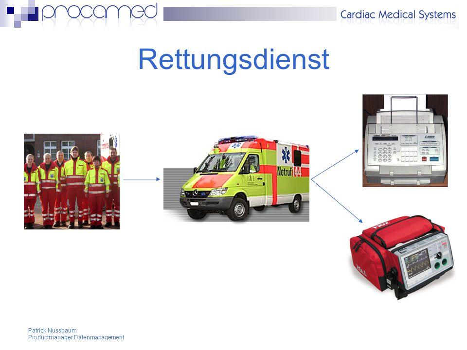 Patrick Nussbaum Productmanager Datenmanagement Beispiele EKG-/Vital-Web-DB