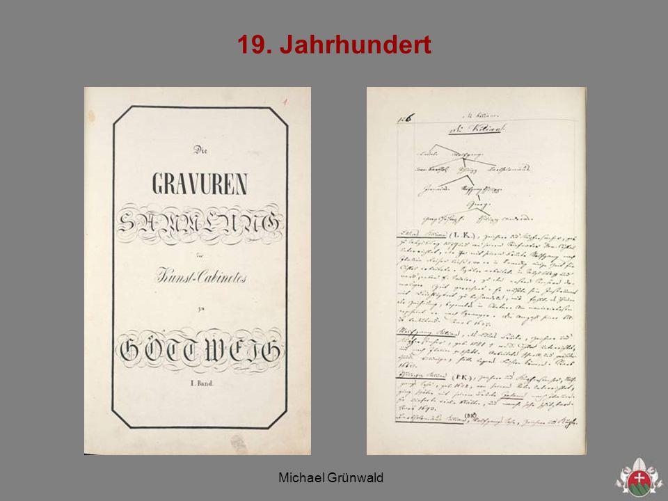Michael Grünwald 19. Jahrhundert