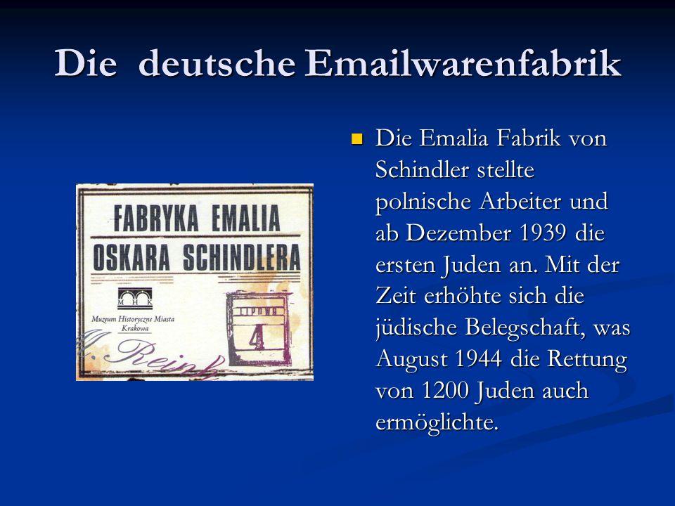 Emilie Schindler und Spielberg
