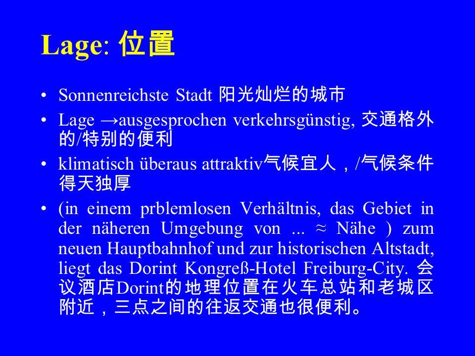 Ausstattung: 设施 Erstklassige Wohnkultur(das Hotel befindet sich in einer guten Gegend und die Wohnbedingungen sind erstklassig, z B.