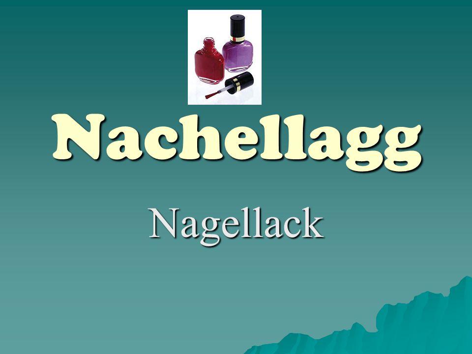 Nachellagg Nagellack