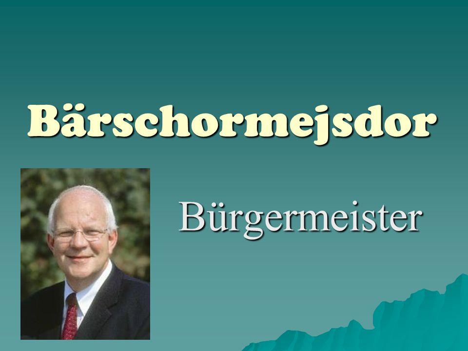 Bärschormejsdor Bürgermeister