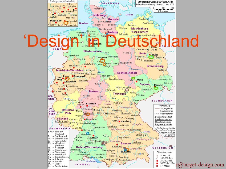 geiger@target-design.com 'Design' in Deutschland