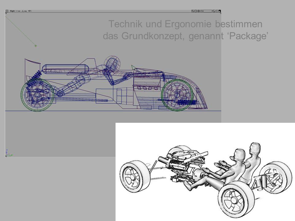 geiger@target-design.com Technik und Ergonomie bestimmen das Grundkonzept, genannt 'Package'