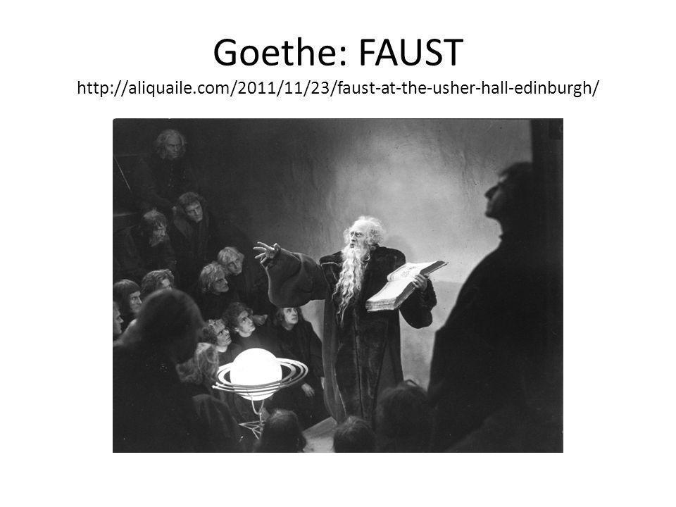 Goethe: FAUST http://aliquaile.com/2011/11/23/faust-at-the-usher-hall-edinburgh/