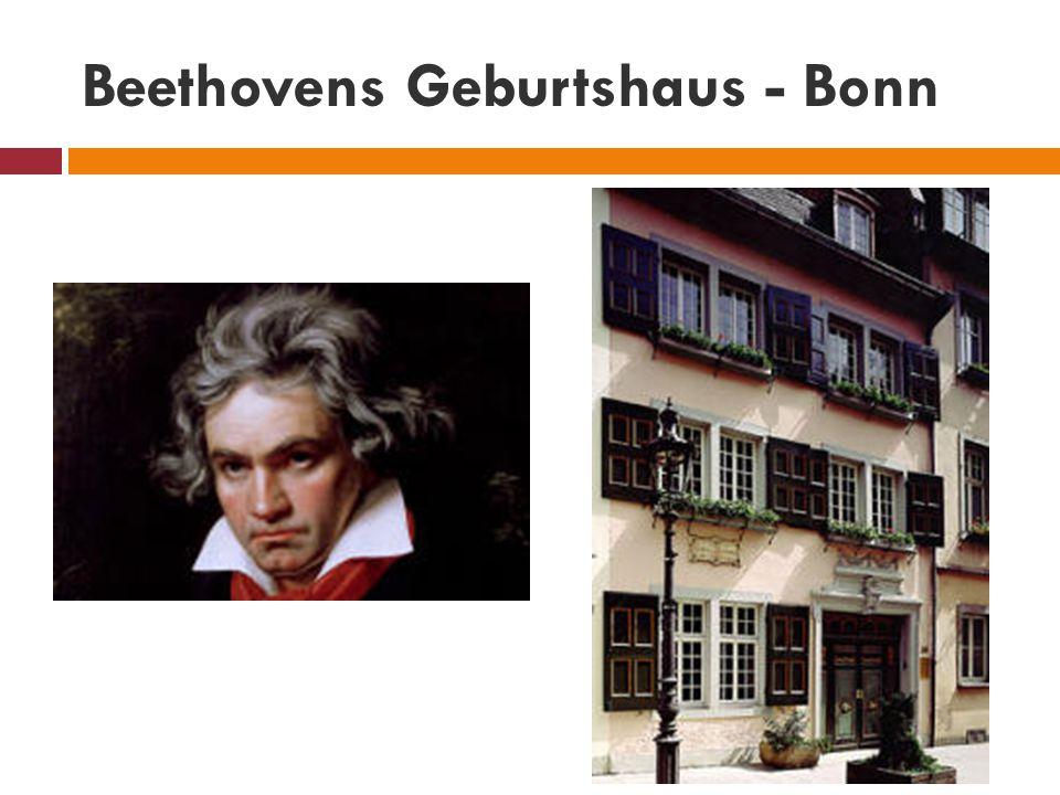 Beethovens Geburtshaus - Bonn