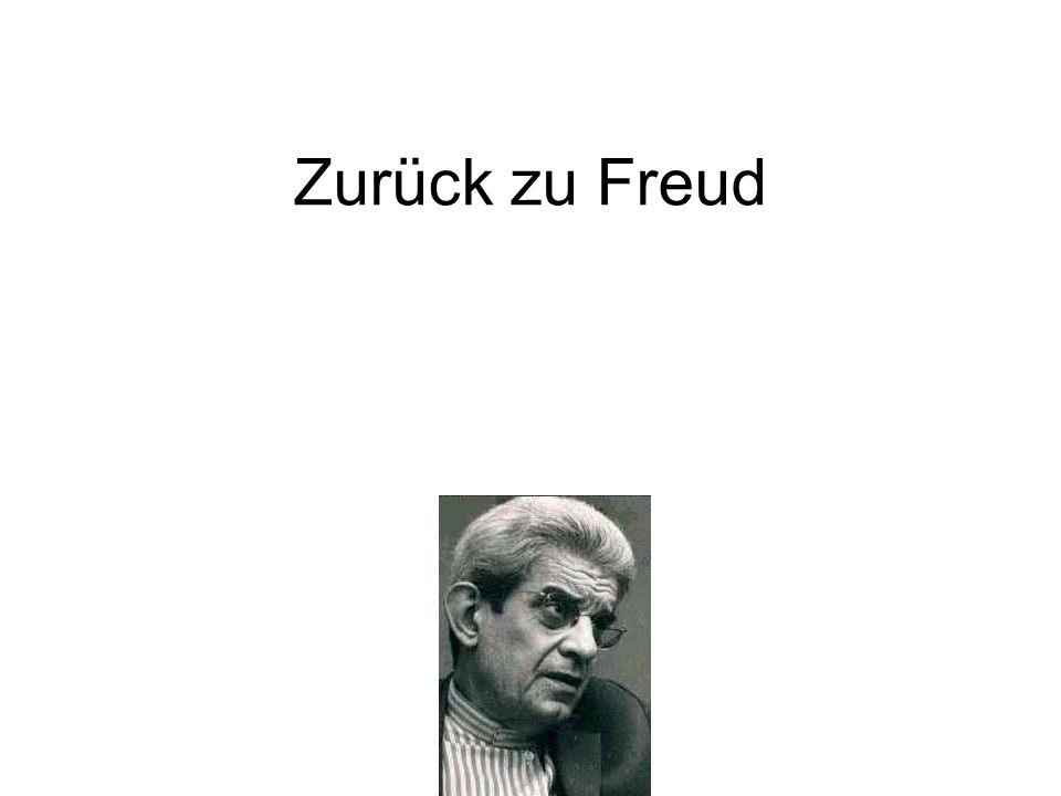 Zurück zu Freud