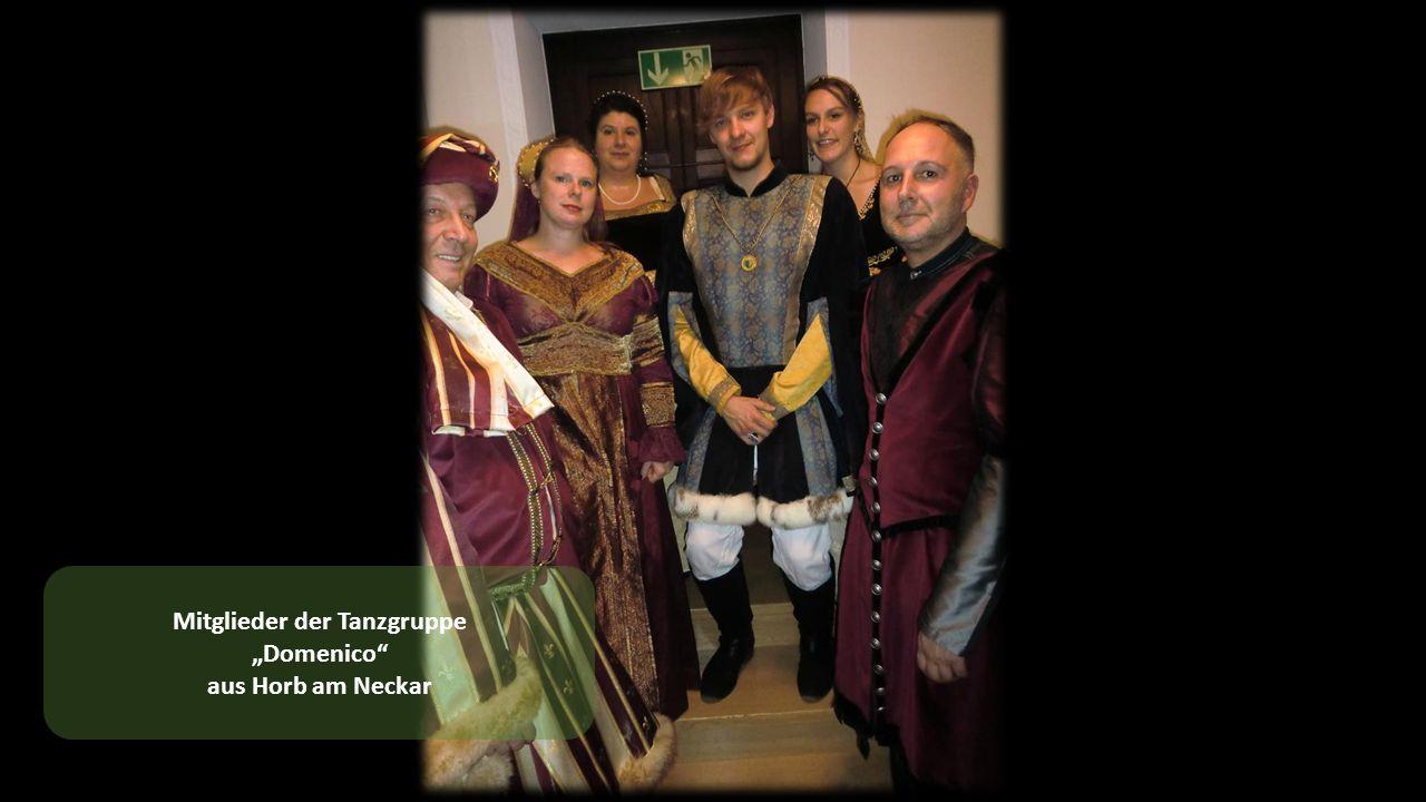 """Mitglieder der Tanzgruppe """"Domenico aus Horb am Neckar"""