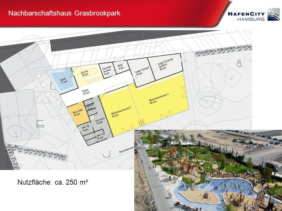 Nachbarschaftshaus Grasbrookpark Nutzfläche: ca. 250 m²