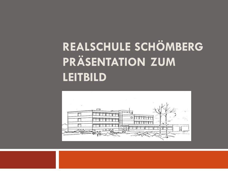 REALSCHULE SCHÖMBERG PRÄSENTATION ZUM LEITBILD