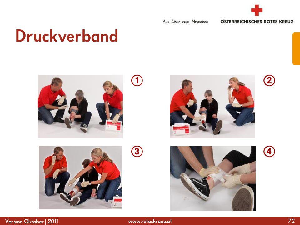 www.roteskreuz.at Version Oktober | 2011 Druckverband 72