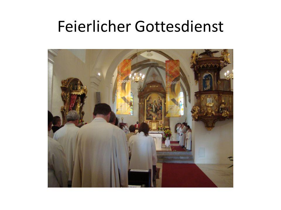Feierlicher Gottesdienst