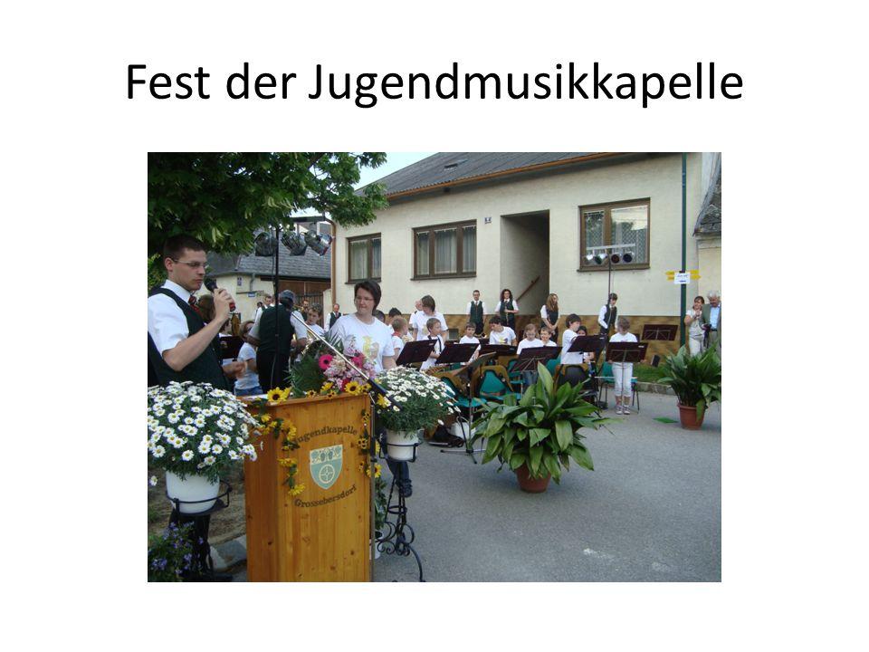 Fest der Jugendmusikkapelle