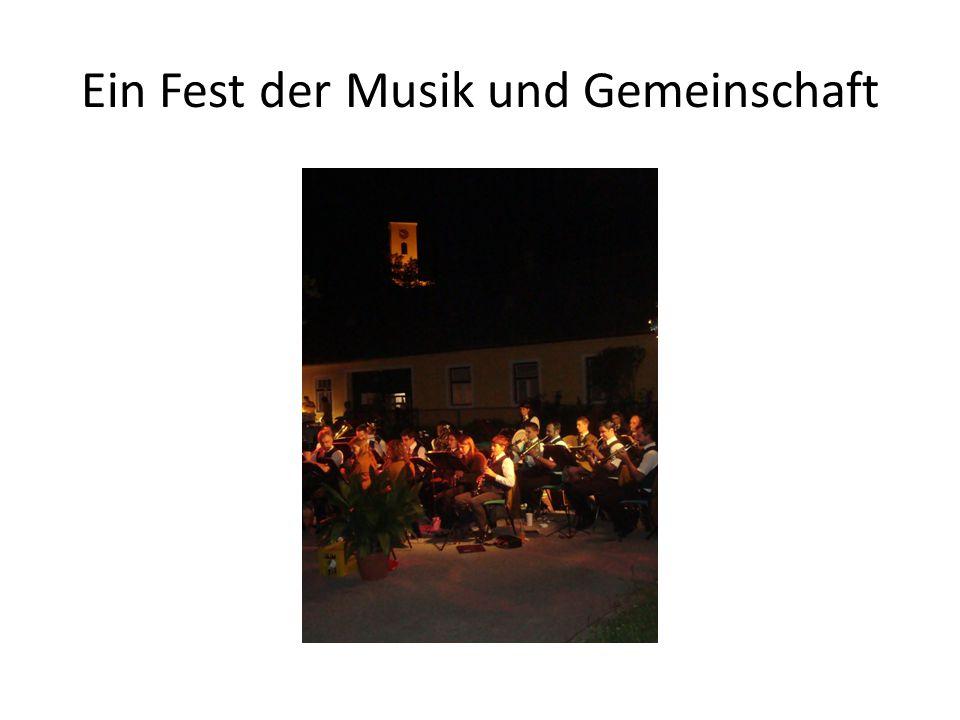 Ein Fest der Musik und Gemeinschaft