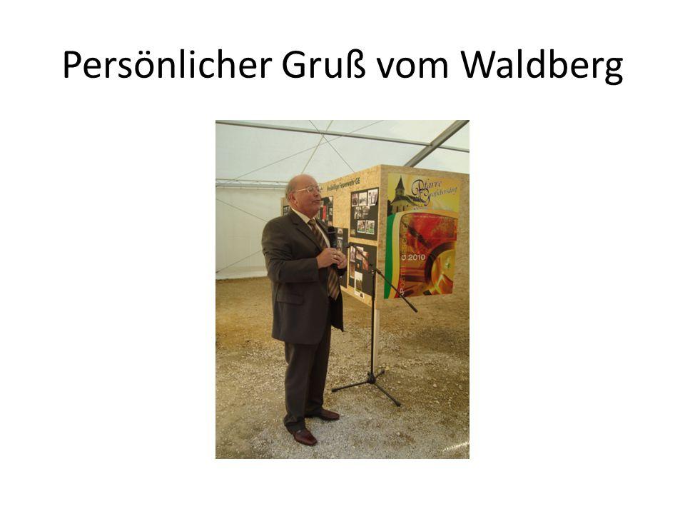 Persönlicher Gruß vom Waldberg