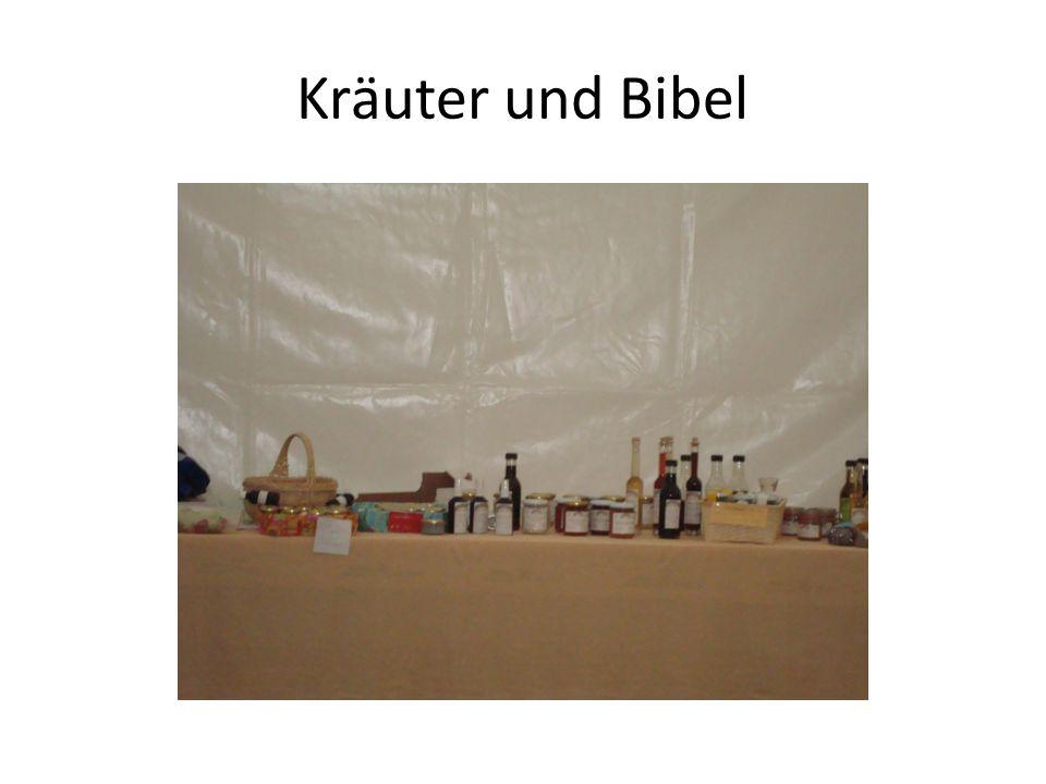 Kräuter und Bibel