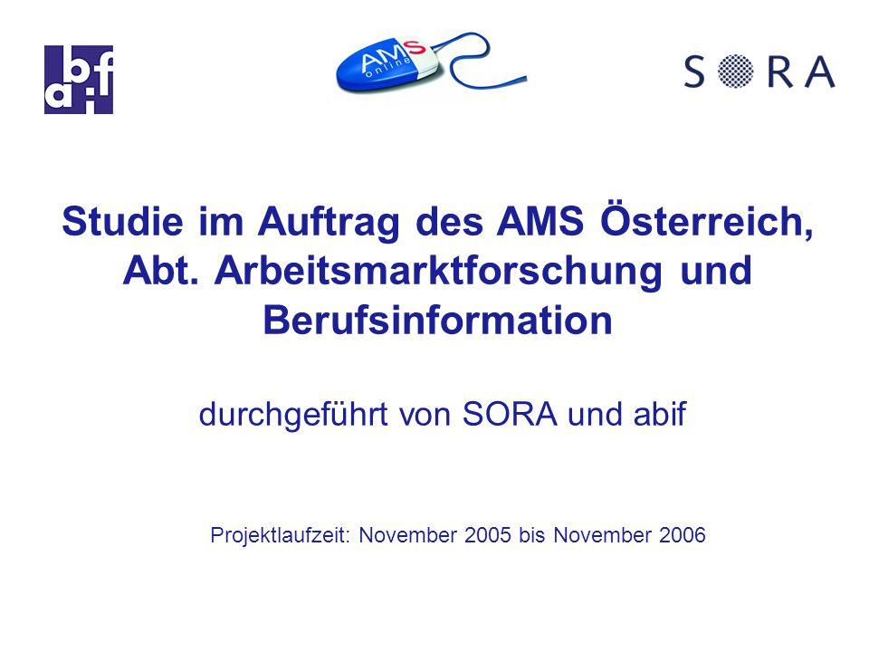 Studie im Auftrag des AMS Österreich, Abt.