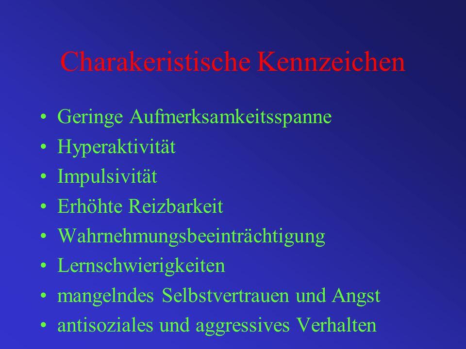 Bezeichnungen für das HKS- Syndrom Hyperkinetische Störung (ICD 10) ADS (Aufmerksamkeitsdifizitsyndrom (DSM IV) TLS (Teilleistungsstörung) POS (Psycho