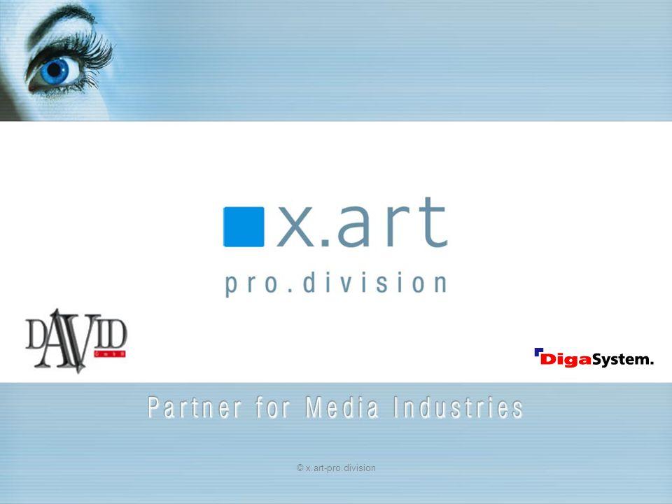 Ende Für weitere Informationen stehen wir Ihnen gerne zu Verfügung X-ART ProDivision GmbH Mediastrasse 8 7423 Pinkafeld Tel.: ++43 3357 43801-0 e-mail: office@x-art.at