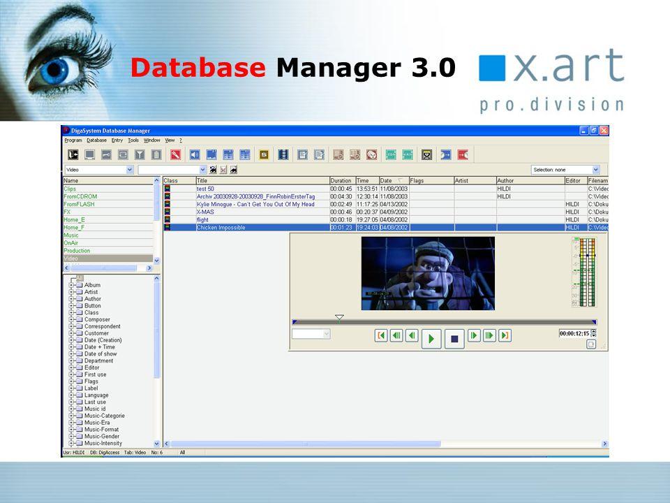 Gemeinsame Key Features: Unterstützung von 24 bit / 96 kHz Audioformat (MultiREC2) Echtzeit-Verarbeitung beliebiger Fileformate auf der Timeline Sample-Darstellung und samplegenauer Schnitt direkte Übernahme der Audiodaten aus Videofiles Vertikaler Zoom wahlweise feststehender oder bewegter Tonkopf definierbare Aufnahmetemplates Entfernung der 2 GB-Begrenzung GUI-Modernisierung (Page-Design, Soft-Scrolling, Clipboard-Farben, Icons) SingleTrack / EasyTrack / MultiTrack Editoren Generation 4