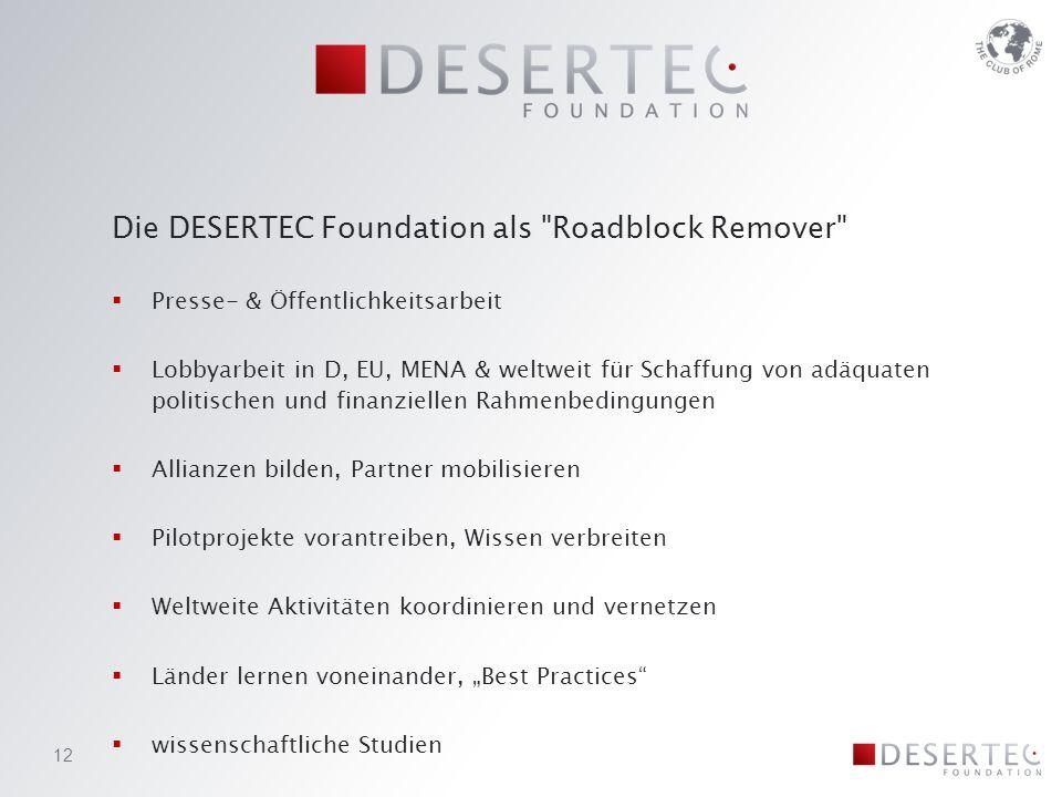 Die DESERTEC Foundation als